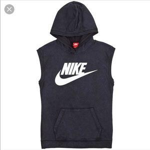 21f2f462d63f3 Nike Shirts - Unisex Nike sleeveless hoodie w  front pocket M